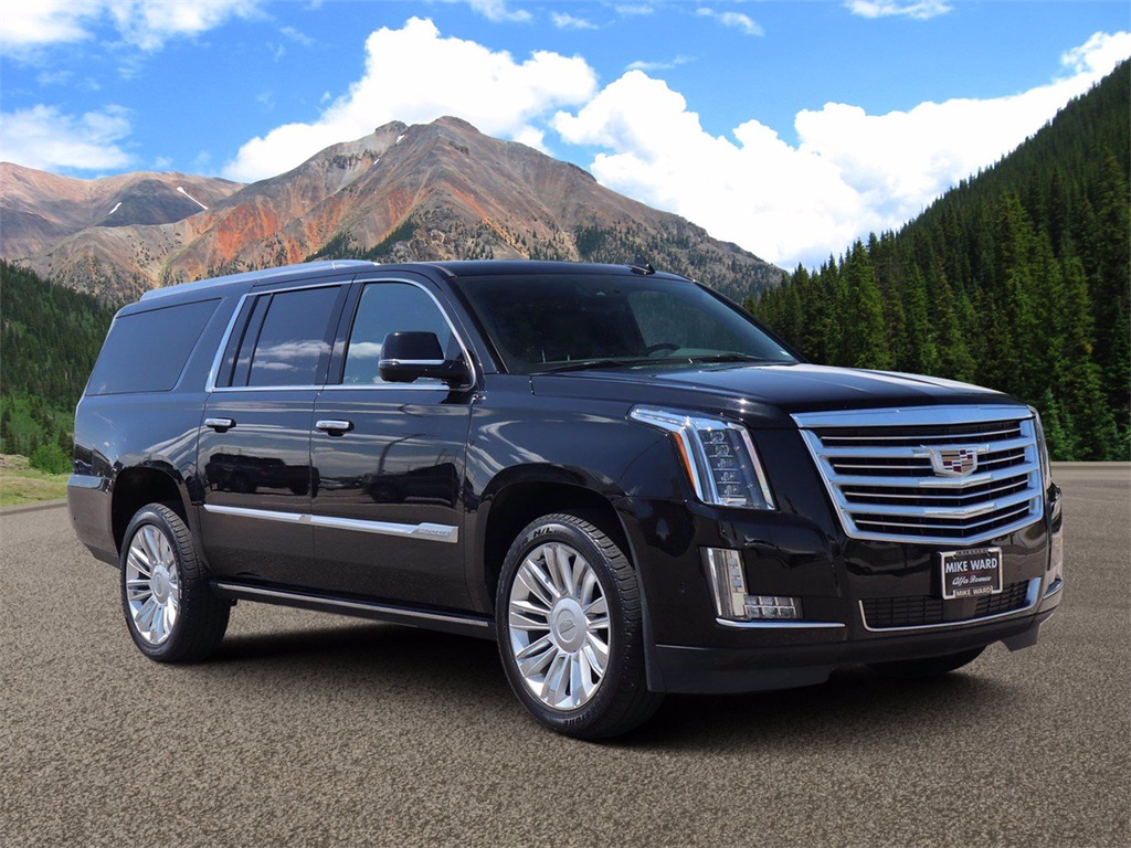 Pre-Owned 2020 Cadillac Escalade ESV Platinum Edition